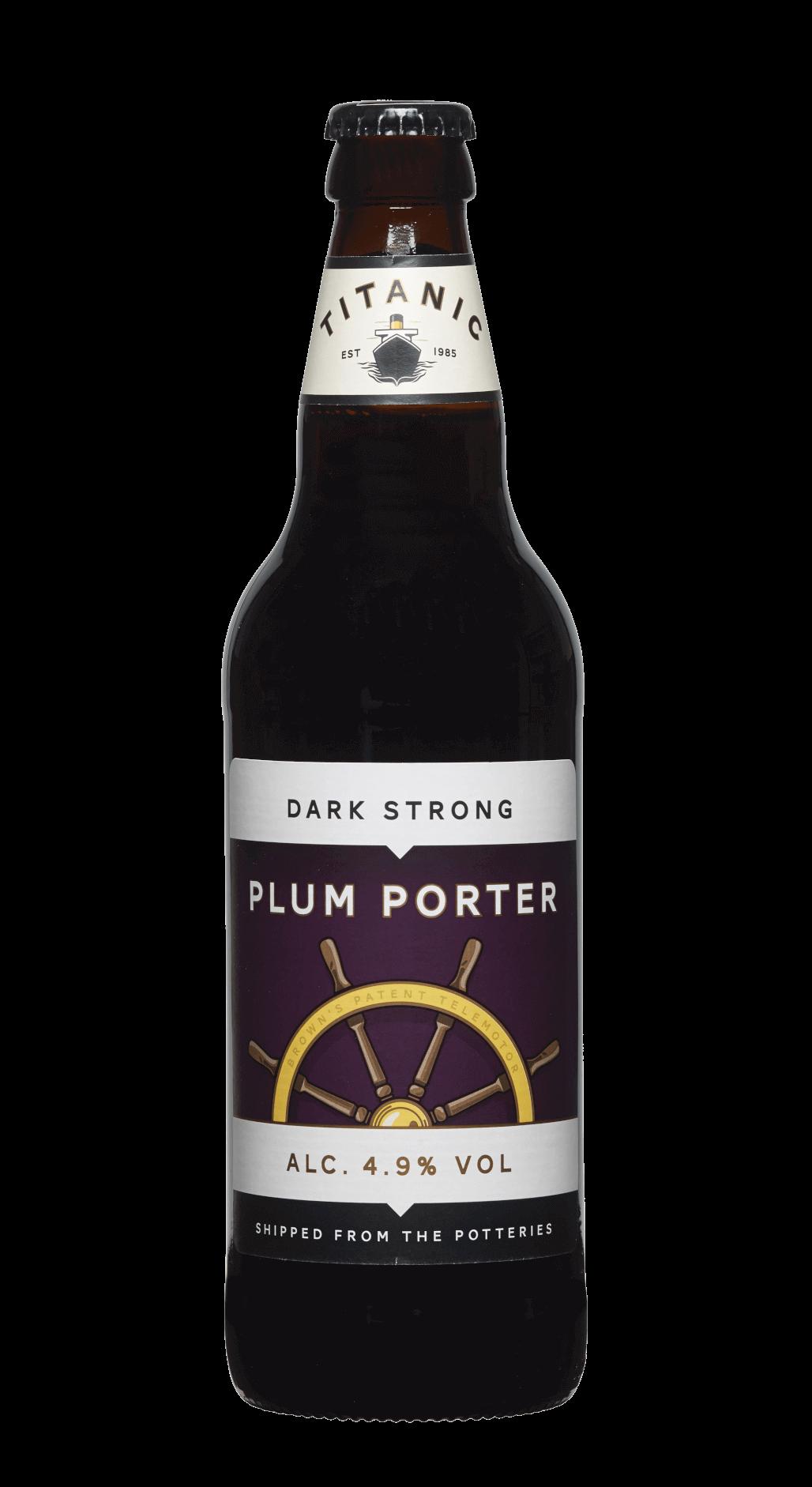 Plum porter case titanic brewery for Porter porter