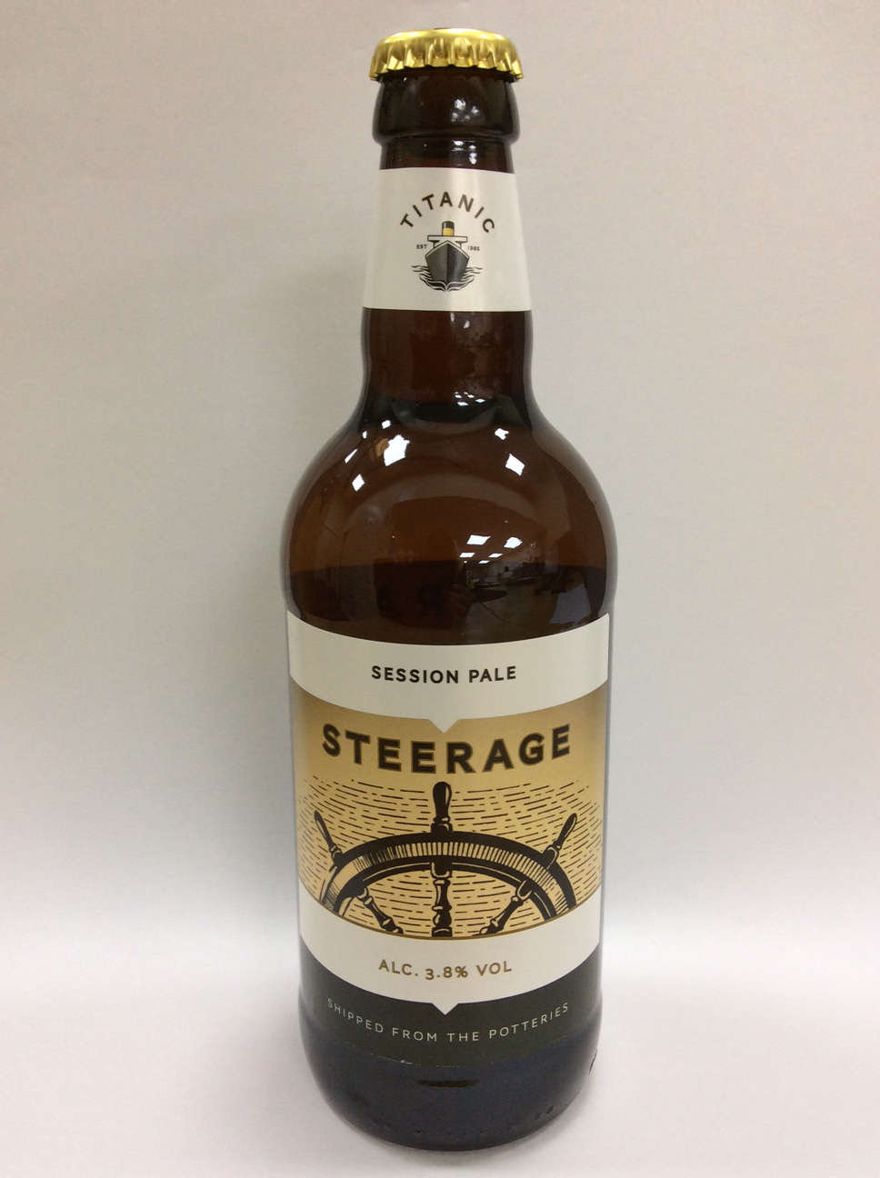 Steerage bottle